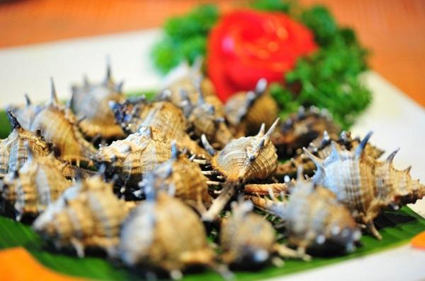 Ốc gai nướng Phú Quốc